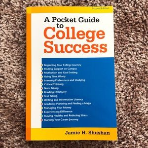 A Pocket Guide to College Success Book
